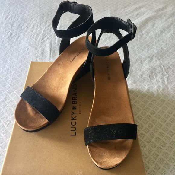 Lucky Brand Shoes | Nib Karston Wedge